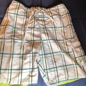 Speedo Men's bathing suit with liner Sz Medium